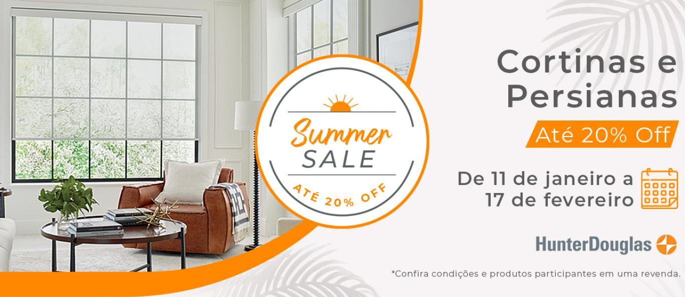 Summer Sale até 20% Off